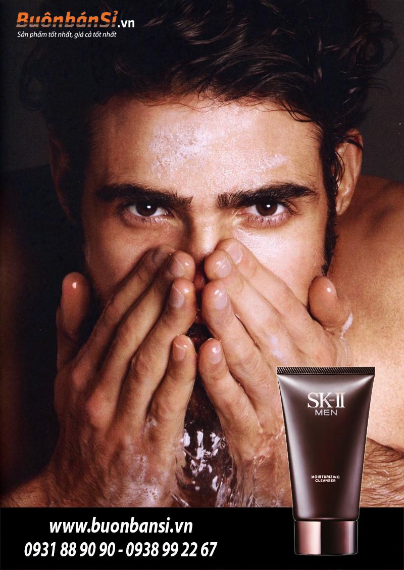 Sữa Rửa Mặt Nam SK-II Men Moisturizing Cleanser