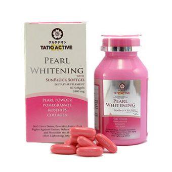 Viên uống trắng da Tatiomax Active Pearl Whitening