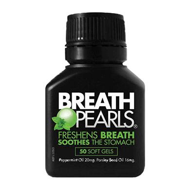 Viên ngậm thơm miệng breath pearls