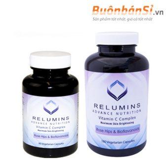 viên uống trắng da relumins vitamin c complex có tốt không