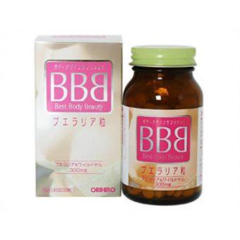 Thuốc nở ngực bbb Best Body Beauty 300mg Orhiro nhật bản