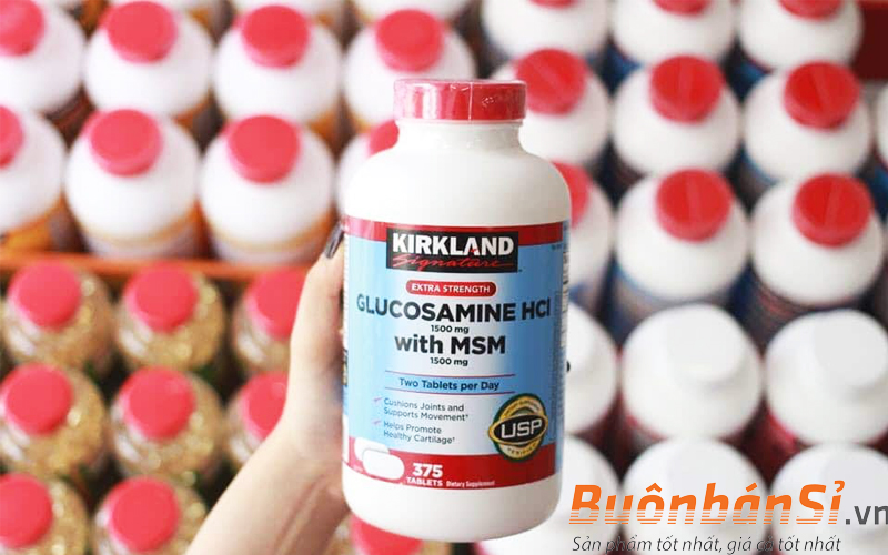viên uống glucosamine kirkland hcl có tốt không