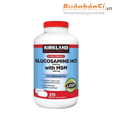 Glucosamine Kirkland 375 Viên có tốt không