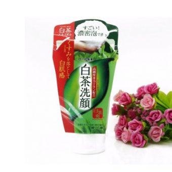 (Sữa rửa mặt trà xanh Nhật Bản Rohto Shirochasou Green Tea Foam)