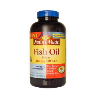 (Dầu cá Nature Made Fish Oil Omega 3)