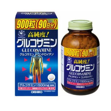 Viên uống Glucosamine Orihiro 1500mg Nhật Bản