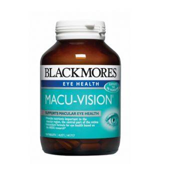 Viên uống bổ mắt Blackmores Macu Vision 150 viên của Úc