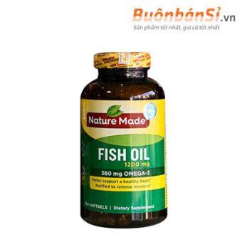 Dầu cá fish oil nature made có tốt không