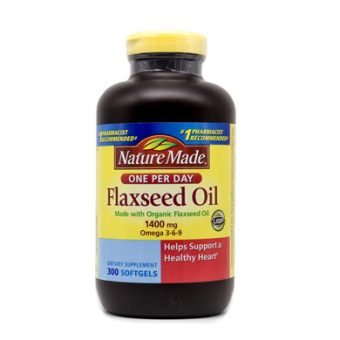 Dầu hạt lanh Nature Made Flaxseed oil 1400 mg omega 3-6-9