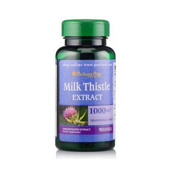 Viên uống hỗ trợ gan Milk Thistle 1000mg Puritan Pride 90 viên của Mỹ