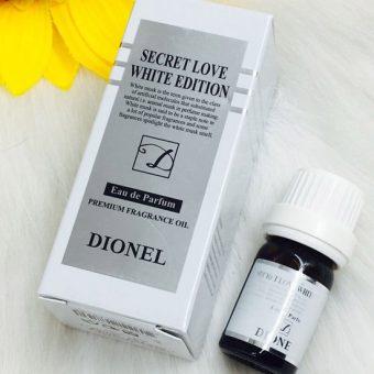 Nước hoa vùng kín Dionel Secret Love White Edition màu trắng