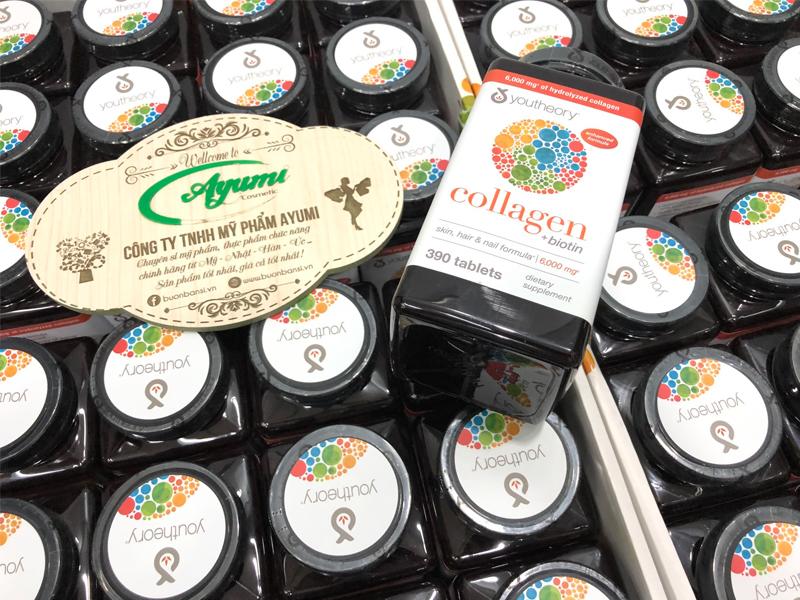 collagen youtheory 390 viên mẫu mới