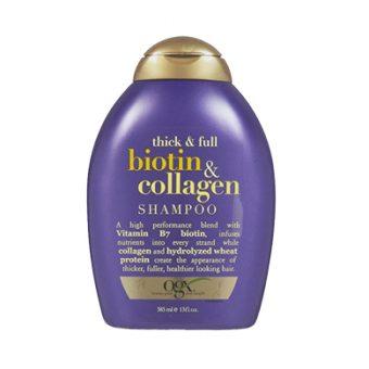 (Dầu Gội Chống Rụng Tóc Biotin & Collagen OGX 385ml)