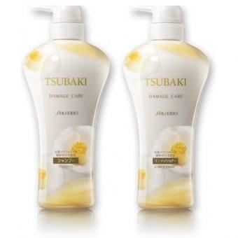 (Dầu gội Tsubaki trắng – Shiseido Tsubaki Damage Care)