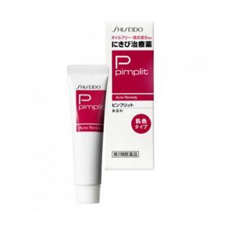 (Kem trị mụn Shiseido Pimplit 15g Nhật Bản)