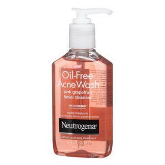 Sữa Rửa Mặt Trị Mụn Neutrogena Oil-free Acne Wash 177ml 5