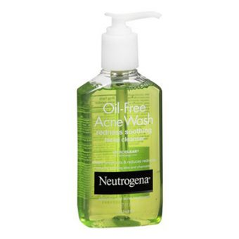 Sữa Rửa Mặt Trị Mụn Neutrogena Oil-free Acne Wash 177ml 3