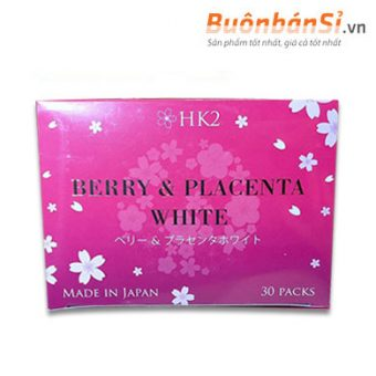 Tinh chất Nhau Thai Ngựa Đẹp Da HK2 Berry & Placenta White có tốt không