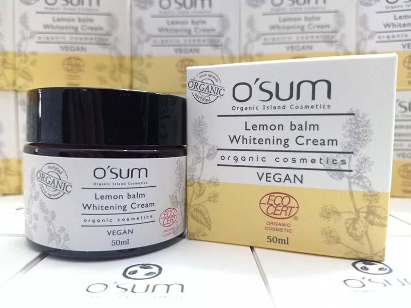 kem-duong-trang-osum-organic-lemon-balm-whitening-cream