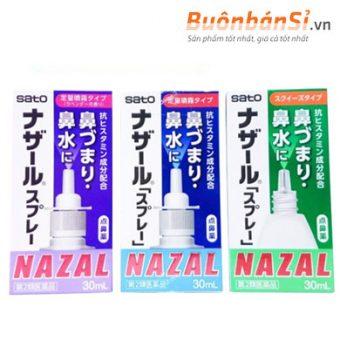thuốc xịt xoang mũi nazal 30ml có tốt không