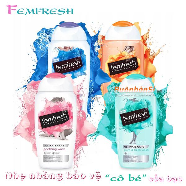 review dung dịch vệ sinh phụ nữ femfresh có tốt không