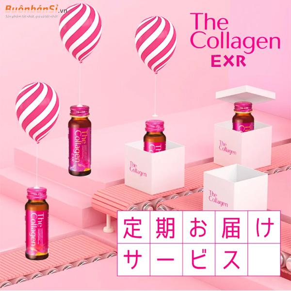 review nước uống the collagen exr có tốt không