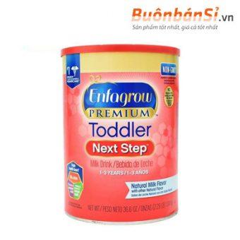 sữa bột cho bé từ 1-3 tuổi enfagrow premium toddler next step có tốt không