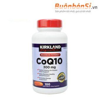 viên uống hỗ trợ tim mạch kirkland signature coq10 có tốt không