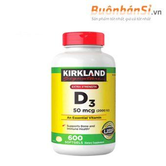 viên uống vitamin d3 kirkland extra strength co tốt không