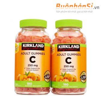 kẹo dẻo bổ sung vitamin c kirkland adult gummies có tốt không