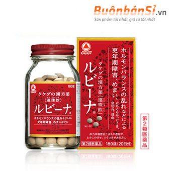 Viên Uống Bổ Máu Takeda Rubyna 180 Viên Nhật Bản