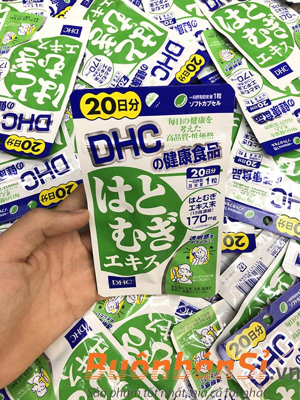 Viên Uống Trắng Da DHC dưỡng trắng da từ bên trong