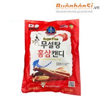 kẹo hồng sâm không đường 500g korea red ginseng candy mua ở đâu