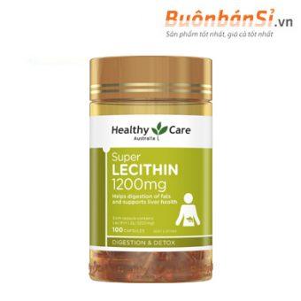 mầm đậu nành healthy care super lecithin 1200mg 100 viên úc có tốt không