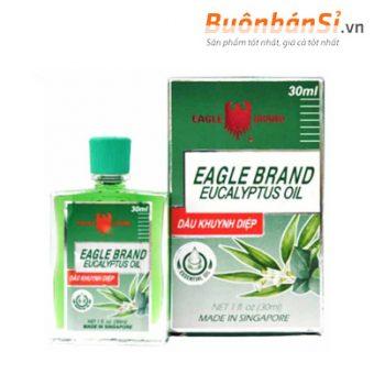 dầu khuynh diệp eucalyptus oil eagle brand 30ml có tốt không