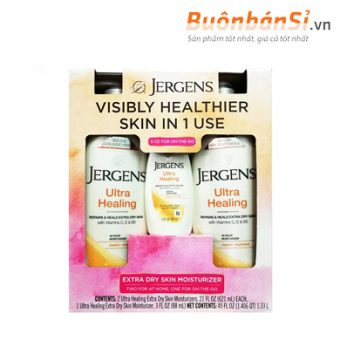 jergens visibly healthier skin in 1 use có tốt không