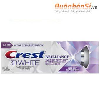 Crest 3D White Brilliance Vibrant Peppermint có tốt không