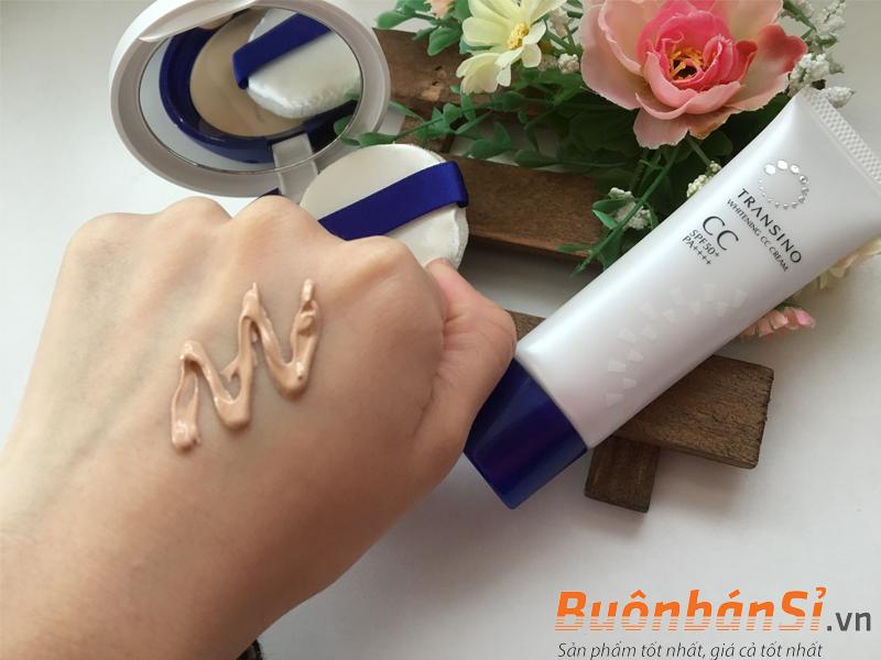 Transino Whitening CC Cream có tốt không