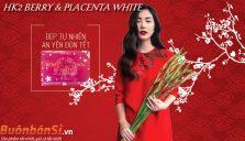 tinh chất nhau thai ngựa đua hk2 berry & placenta white có tốt không